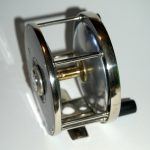 Edward-vom-Hofe-Maker-New-York-423-Salmon-Fly-Fishiing-Reel-Antique-Vintage-6-0-hard-rubber