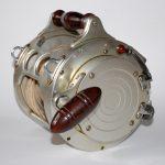 Fin-Nor-1st Model-anjtique-vintage-fishing-reel-15-0-Big Drum-Double Handle-Direct Drive