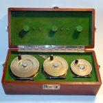 fin-nor-gar-wood-wedding-cake-fly-fishing-reel-miami-florida-presentation-set-box