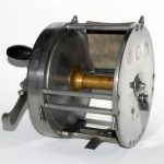 Hardy-Bros-Zane-Grey-Alnwick-England-8 1-2-Inch-Big-Game-Fishing-Reel-Antique-Vintage