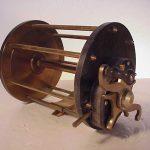 Unknown-maker-22-0-big-game-fshing-reel-vintage-antique