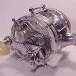 klein-c-r-santa-monica-cal-big-game-fishing-reel-12-0-cradle-clear-side-plates